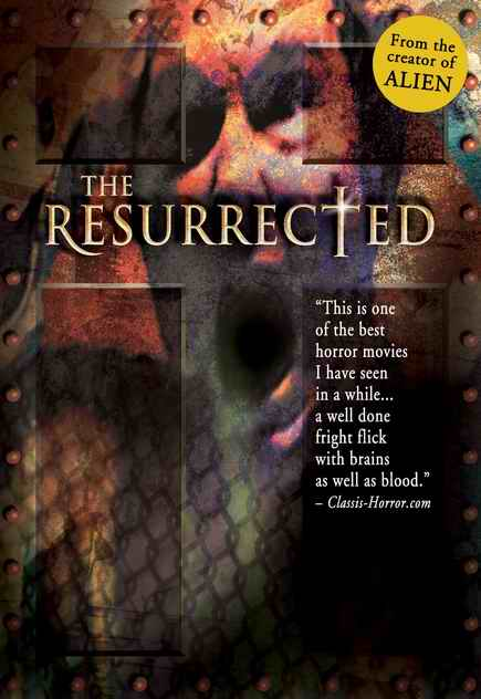 The Resurrected DVD cover