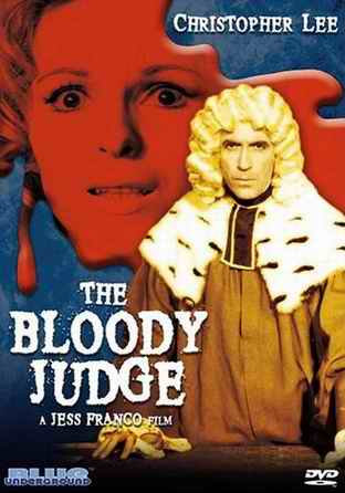 The Bloody Judge DVD cover