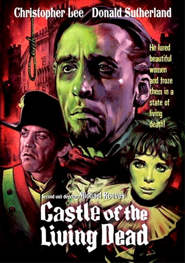 Castle of the Living Dead DVD cover