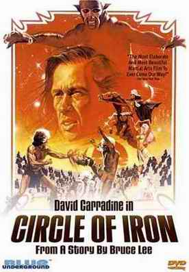 Circle of Iron DVD cover