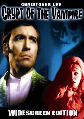 Crypt of the Vampire DVD cover