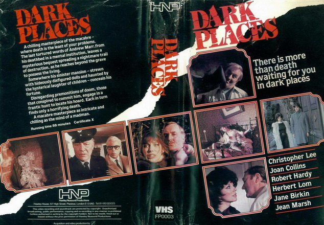 Dark Places VHS cover