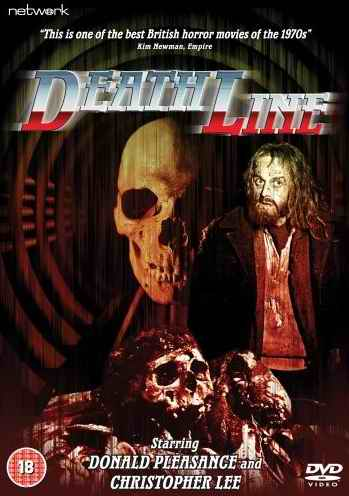 Death Line aka Raw Meat DVD cover
