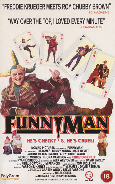 Funny Man VHS cover