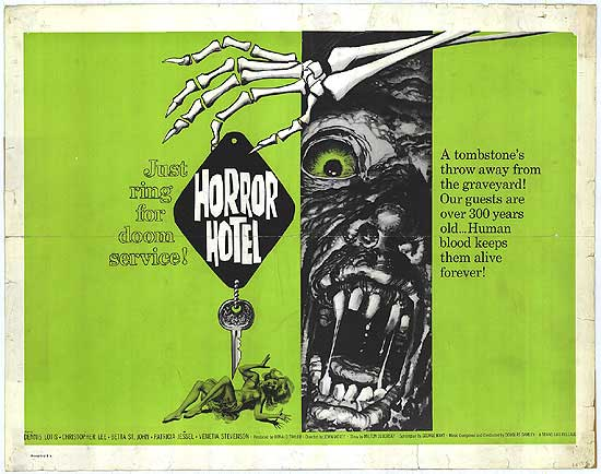 Horror Hotel movie poster
