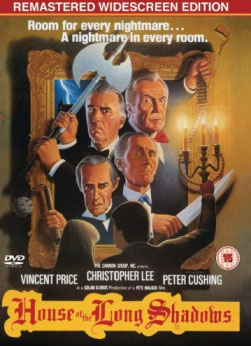 House of the Long Shadows DVD cover