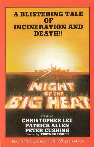 Night of the Big Heat DVD cover