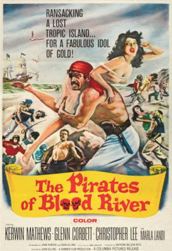 The Pirates of Blood River movie poster