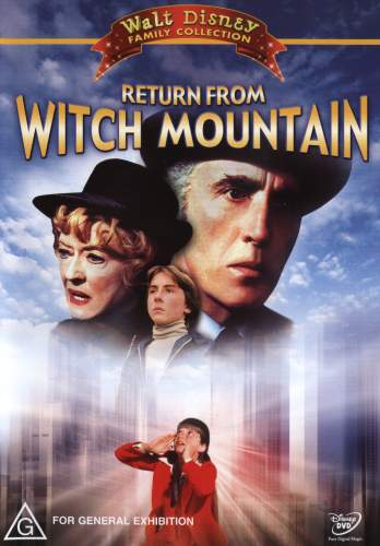 Return From Witch Mountain DVD cover