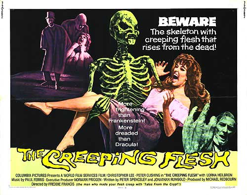 The Creeping Flesh movie poster