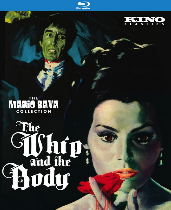 The Whip and the Body Blu Ray cover