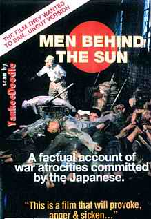 Men Behind the Sun Australia VHS