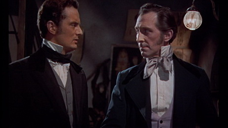 The Revenge of Frankenstein - Francis Matthews, Peter Cushing